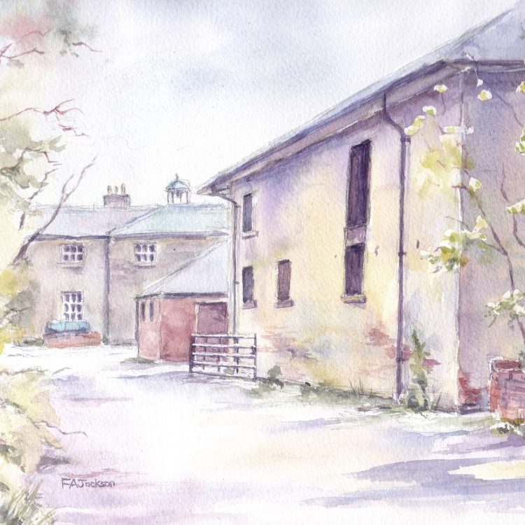 Allestree hall outbuildings