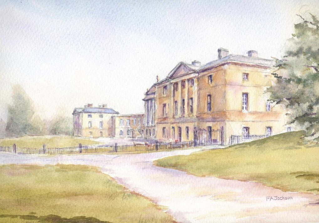 Kedleston hall front F A Jackson