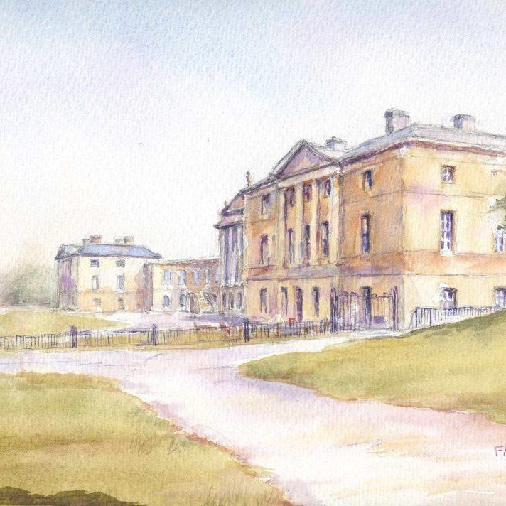 Kedleston hall front F A Jackson