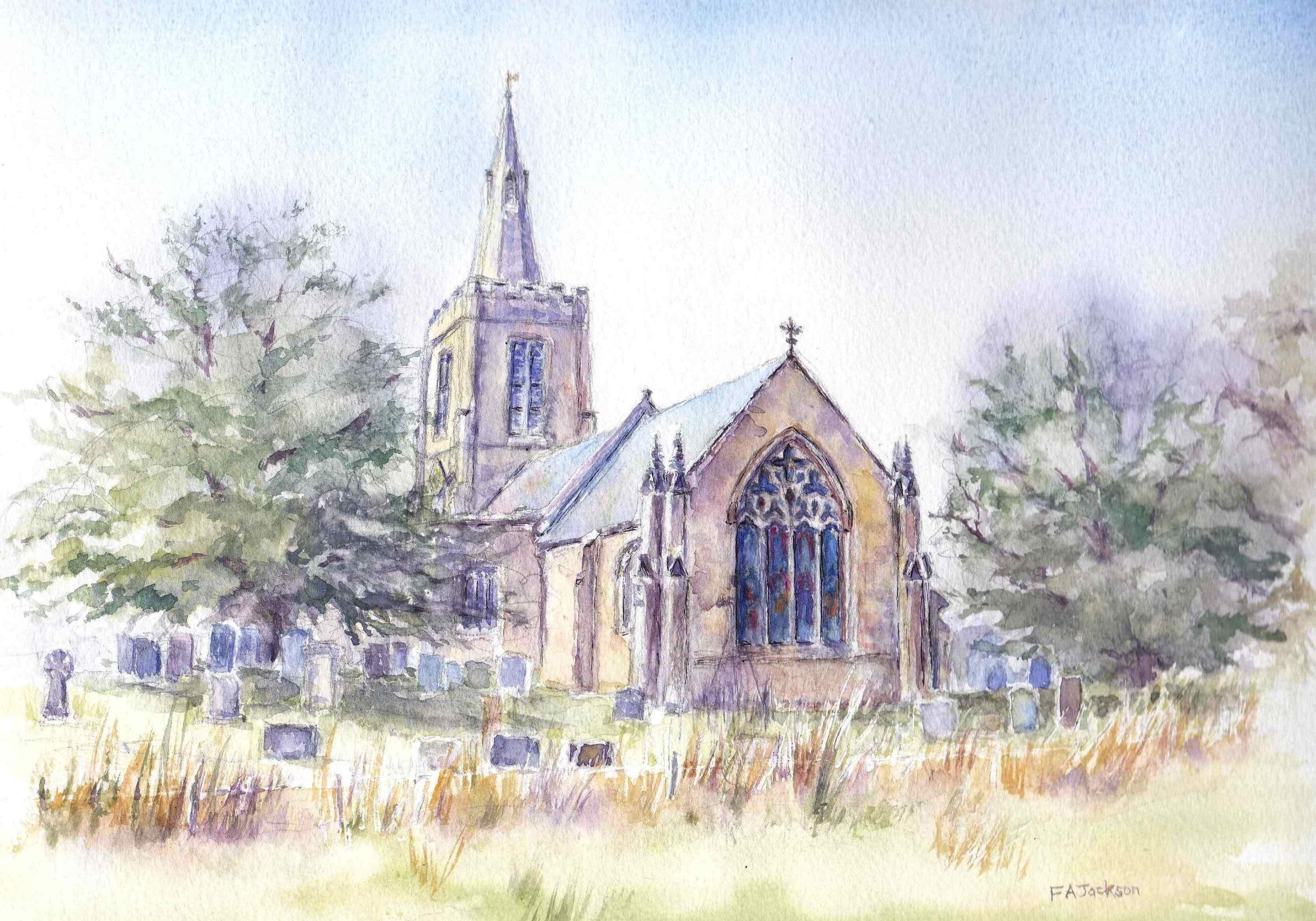 Mackworth All Saints Church 2 copy