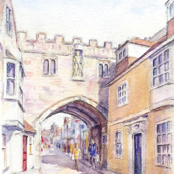 Salisbury High street gate copy